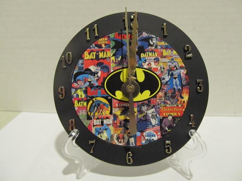 Batman CD clock