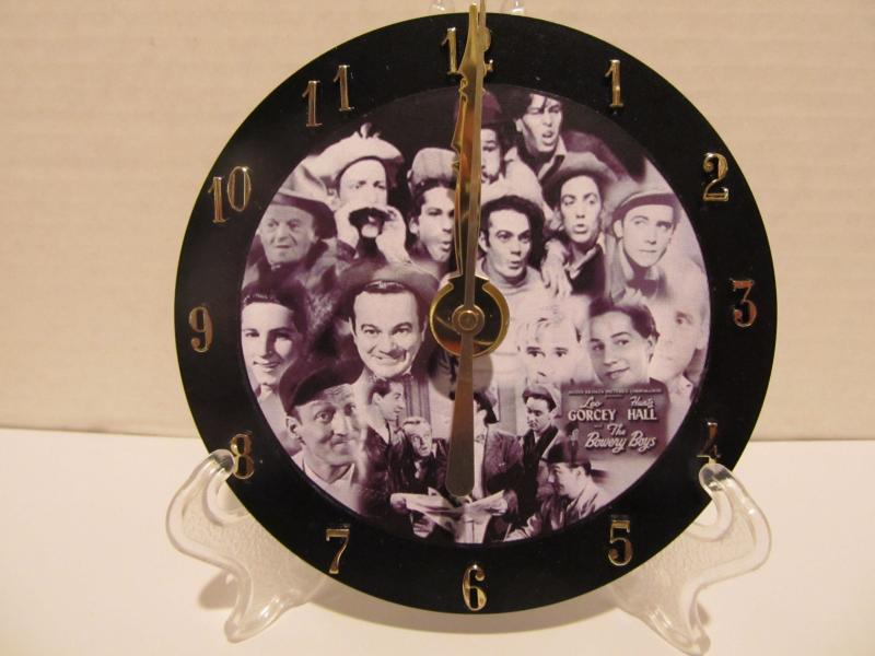 Bowery Boys CD clock