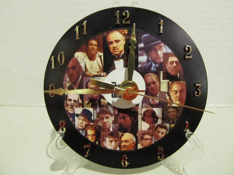 Godfather CD clock