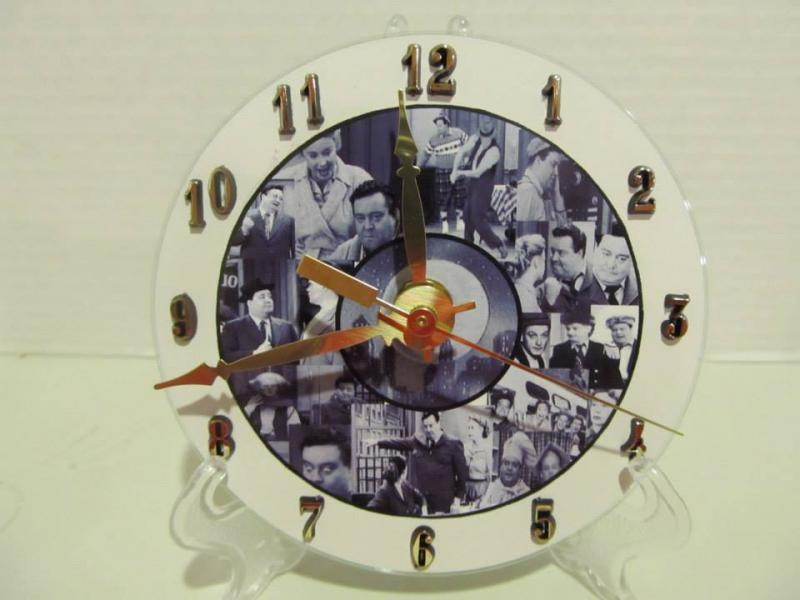 Honeymooners CD clock