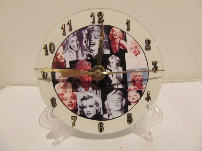 Marilyn Monroe CD clock
