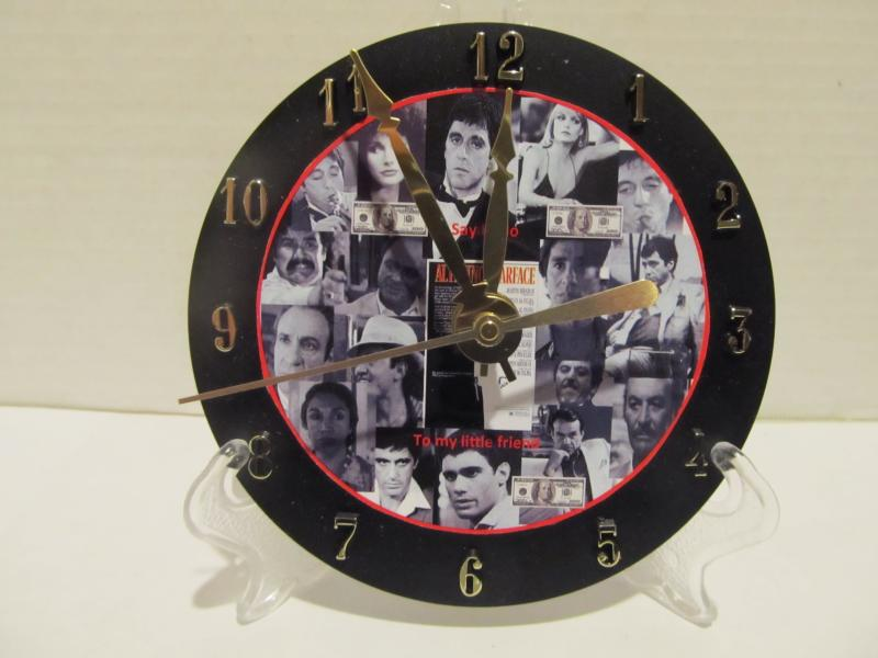 Scarface CD clock