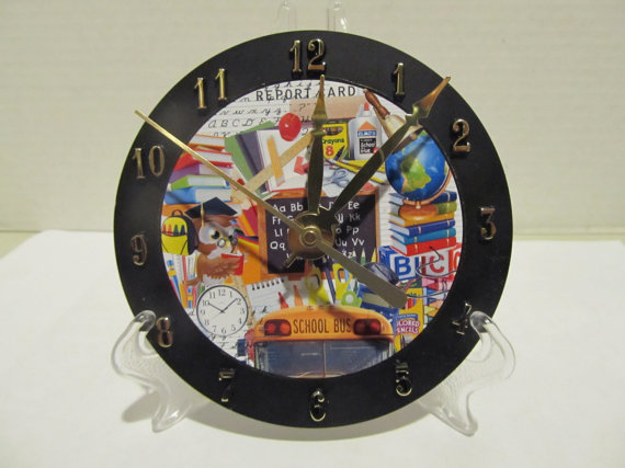 Teacher cd clock
